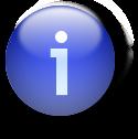 Icon blue i